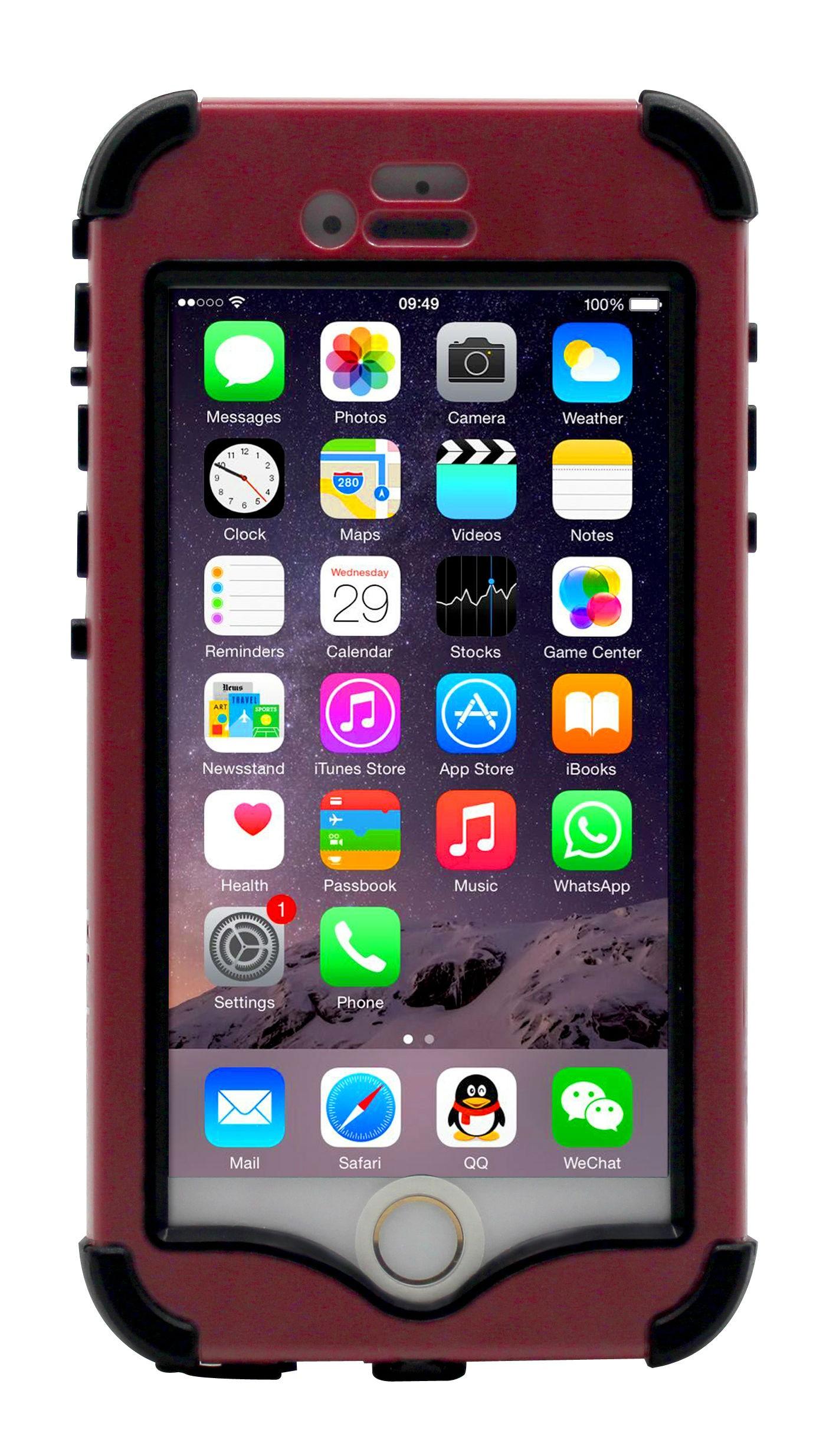 Lifebox Iphone 6 4 7 Rugged Protection Case Waterproof Dustproof Shockproof Snowproof