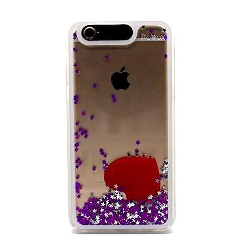 """LifeBox Glow, Aqua Fluid IPhone 6 4.7"""" Case"""