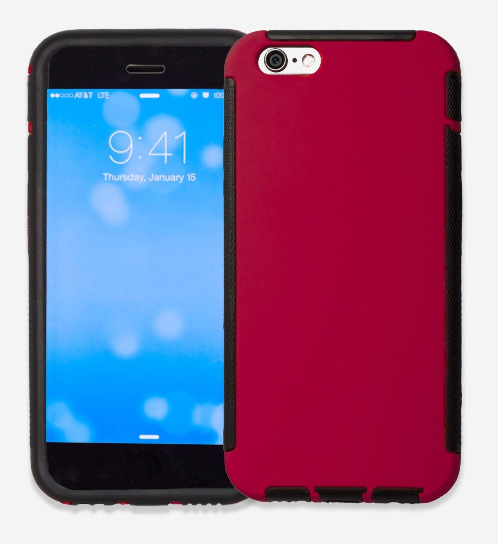LifeBox Rugged Apple iPhone 6 Case - Hybrid Dual Layer