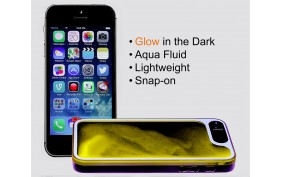 LifeBox Glow, Aqua Fluid iPhone 5/5s Case